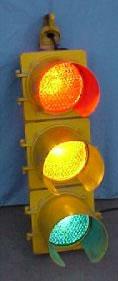8 inch Lens Traffic Light AS IS Model